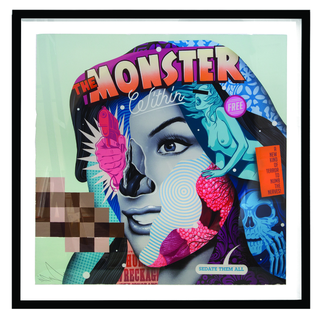 , 'The Monster Within,' , Subliminal Projects