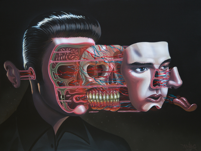 NYCHOS, 'Dissection of Elvis', 2016, ArtLife Gallery