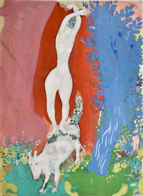 Marc Chagall, 'Circus Woman   Femme de Cirque', 1960, Gilden's Art Gallery