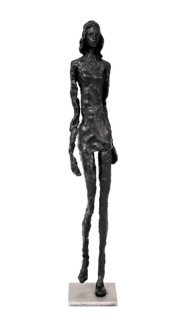 , 'Giacometti's granddaughter as a supermodel (catwalk),' 2012, Zemack Contemporary Art
