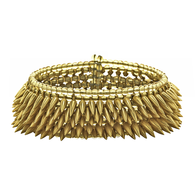 , 'Gold Bullet Cuff Bracelet,' 2016, Szor Collections