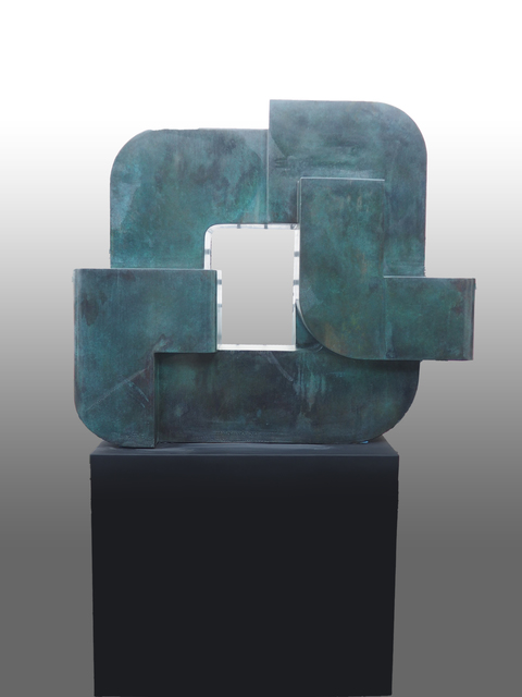 , 'Locking piece II,' , Melissa Morgan Fine Art