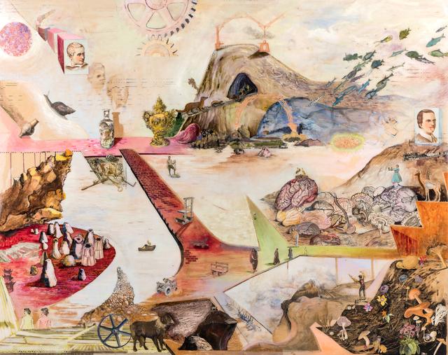 , 'Scarlet Fever Dream ,' 2018, John Martin Gallery