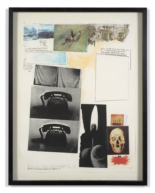 Robert Rauschenberg, 'Poster for peace', 1970-1971, Super Dakota
