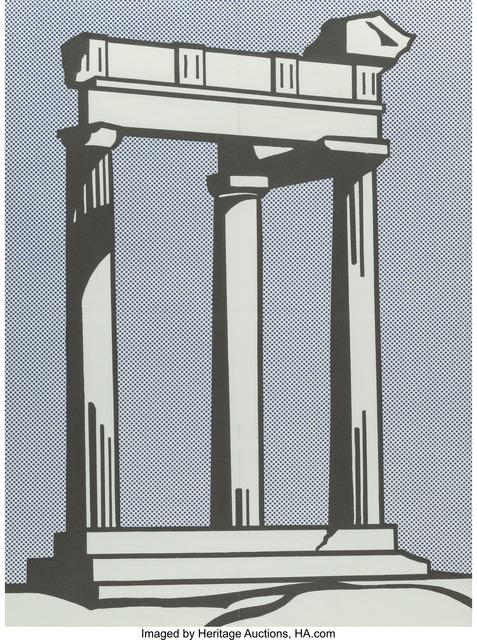Roy Lichtenstein, 'Temple (Castelli mailer)', 1964, Heritage Auctions