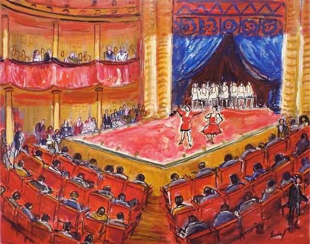 Carlos Nadal, 'Theatre', ca. 1990, Galeria Jordi Pascual