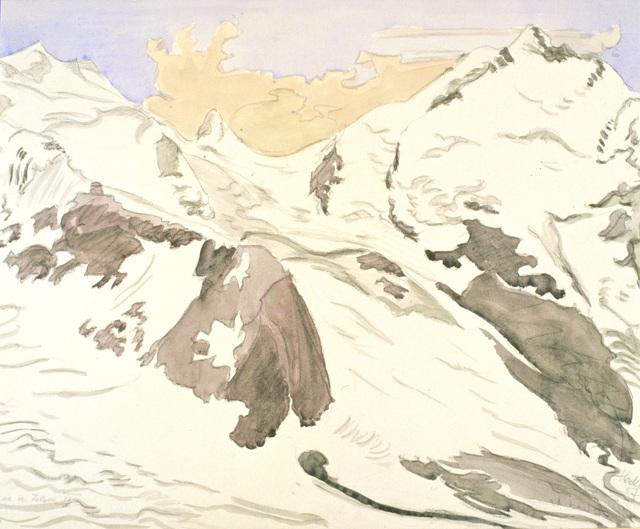 , 'Schnee und Felsen II,' 1957, Henze & Ketterer