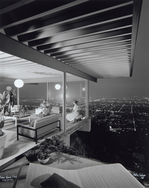 Julius Shulman, 'Case Study House #22, Los Angeles, CA, Pierre Koenig Architect', 1960, Photography, Gelatin silver print, printed later., Phillips