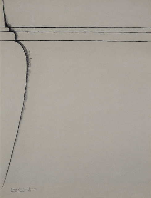 , 'Dropping a line home from away,' 1967, Charles Nodrum Gallery