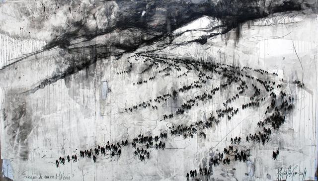, 'Éxodos del Nuevo ;ilenio,' 2014, Victor Lope Arte Contemporaneo