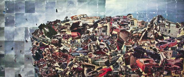 , 'Detritus,' 2008, Muriel Guépin Gallery