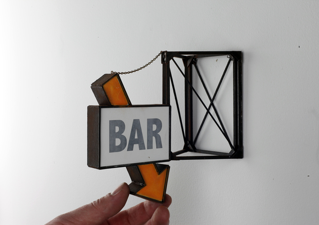 , 'Bar with Orange Arrow,' 2019, Visions West Contemporary