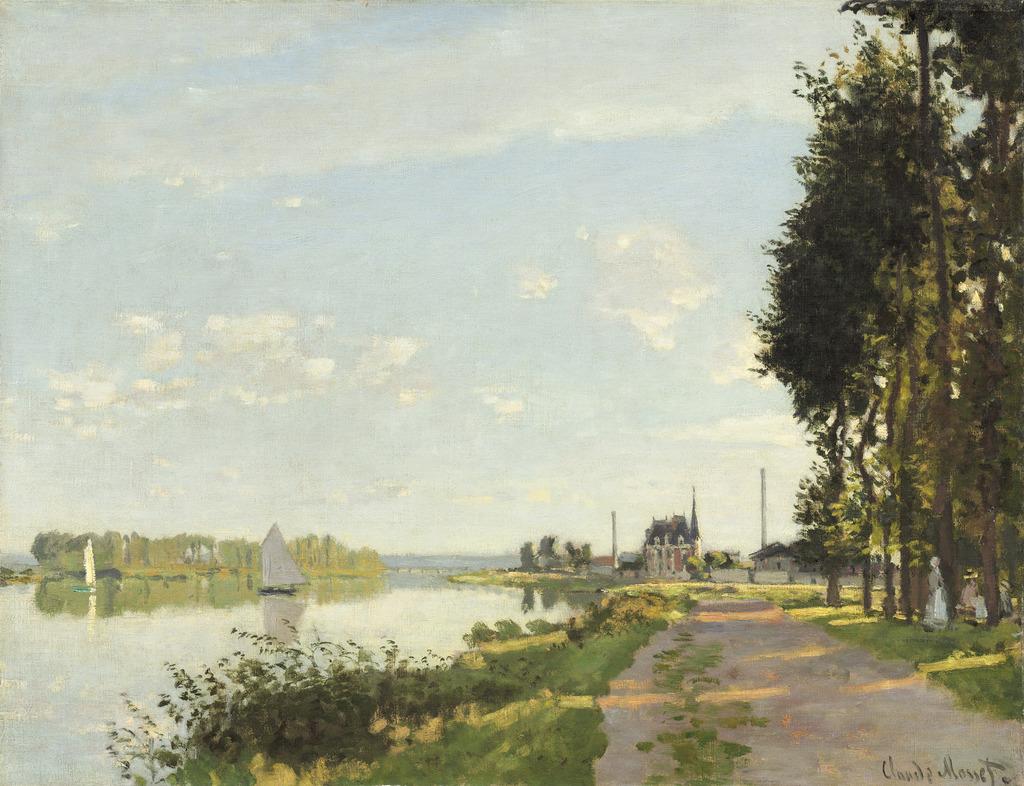 Claude Monet Argenteuil Ca 1872