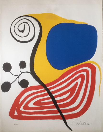 Alexander Calder, 'Spiral Composition', ca. 1970, Vanessa Villegas Art Advisory