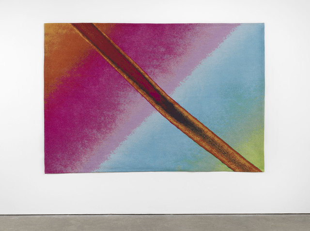 , 'Trace Fiber from Freud's couch under crossed polars with Quartz wedge compensator (#2),' 2015, Lisson Gallery