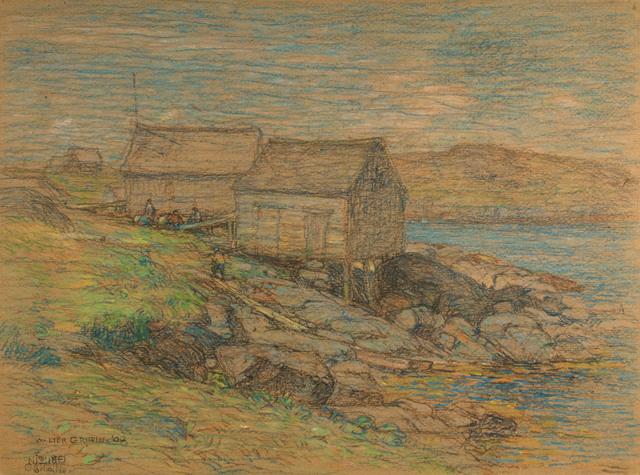 Walter Griffin, 'Monhegan Island, Maine', 1908, Vose Galleries