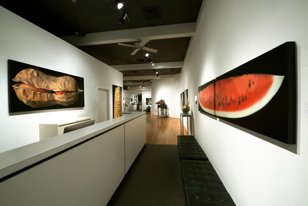 Entry to Culinary Adventures exhibition at ArtSpace/Virginia Miller Galleries in Coral Gables (Miami), Florida