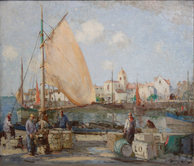 William Lee-Hankey, 'The Riviere Near St. Raphael', 1880-1920, EastCoastArt