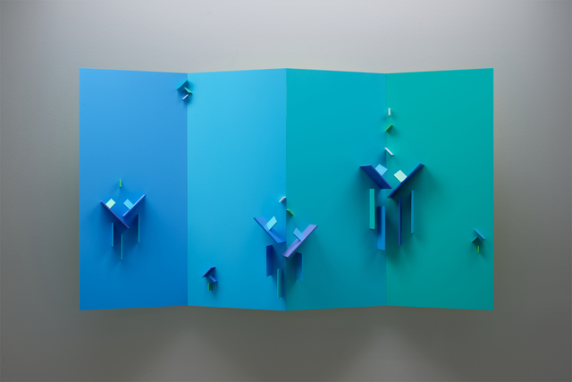 , 'Quadriplane Structuriste Relief No 14,' 2008-2009, Initial Gallery