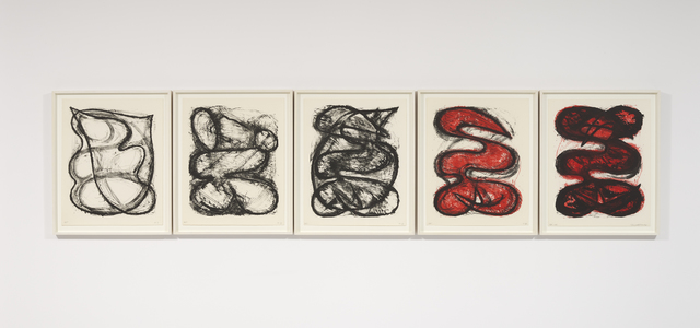 , 'Five State Image (I, II, III, IV, V),' 1980, Gazelli Art House