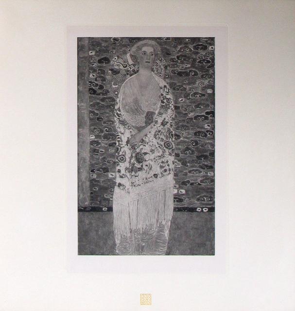 Gustav Klimt, 'Portrait of Frau Dr. Viktor Zuckerkandl [Das Werk Gustav Klimts]', 1914, Jason Jacques Gallery