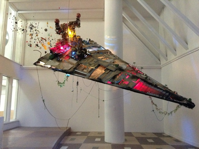 , 'Imperial Slum Ship,' 2013, Museo de Arte de El Salvador (MARTE) and MARTE Contemporary (MARTE-C)