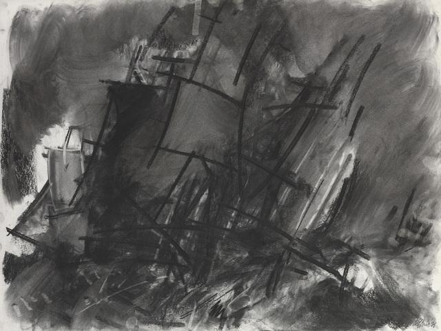 Dennis Creffield, 'Study of Turner with sailing ships II', 1994, Waterhouse & Dodd