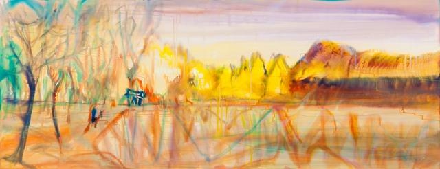 , 'Binglinghu Lake 炳灵湖,' 2016, Matthew Liu Fine Arts