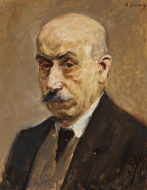 , 'Self-portrait,' 1927, Ben Uri Gallery and Museum