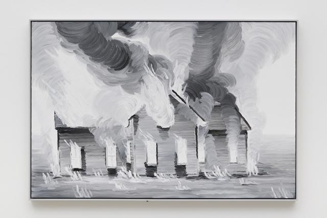 , 'Elegy (Burning House),' 2019, Night Gallery