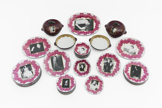 , 'La Callas 35 piece dinner set,' 2000, Caroline Van Hoek