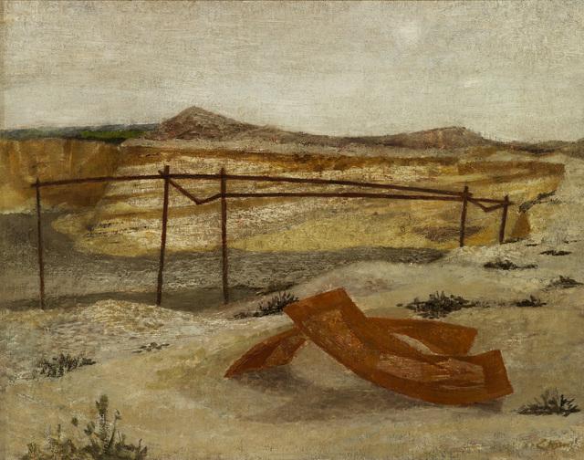 , 'Deserted Gravel Pit,' ca. 1946, Osborne Samuel