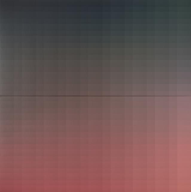 "Yagiz Özgen, 'Part Of ""The Horsehead Nebula (1089 Colors) No:1"" (544 Colors)', 2020, Painting, Acrylic on canvas, Sanatorium"