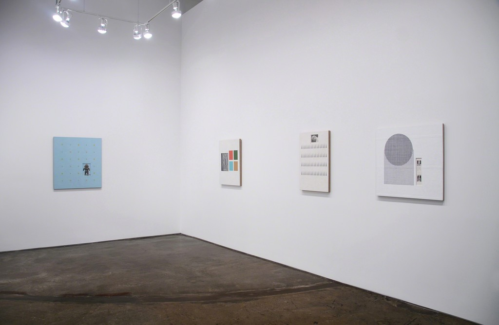 Installation view of Ken Weathersby: Time After Time, MINUS SPACE, Brooklyn, NY