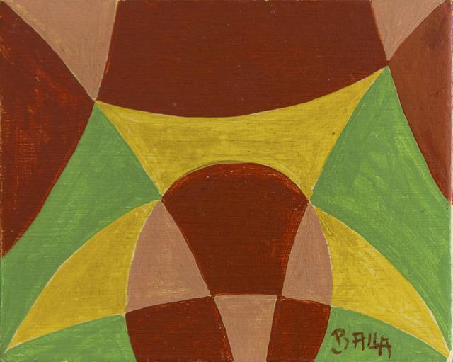 Giacomo Balla, 'Linee compenetrate - sottobicchiere', 1922 ca, ArtRite