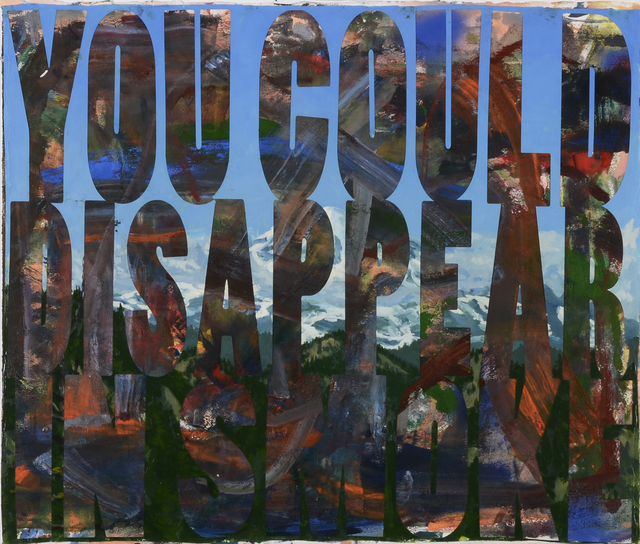 , 'You Could Disappear in Smoke,' 2015, FRED.GIAMPIETRO Gallery
