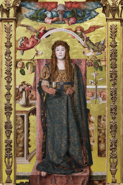 , 'Jumping Into 'The Immaculate Conception, Carlo Crivelli',' 2017, Purdy Hicks Gallery
