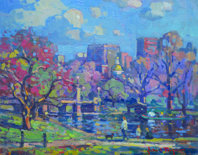 , 'Spring Day, Public Garden,' 2019, Copley Society of Art