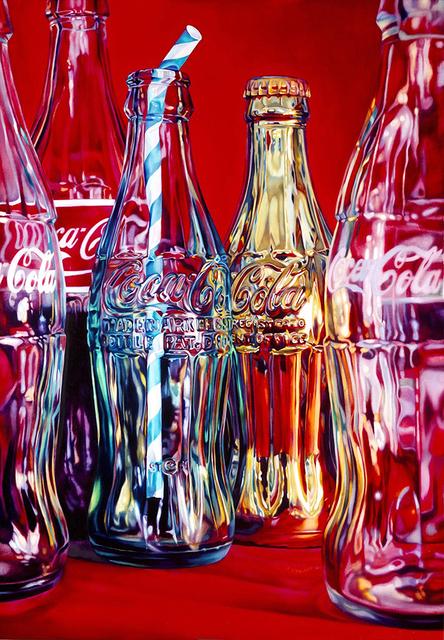 , 'Coke and Stripey Straw,' 2015, TAG Fine Arts