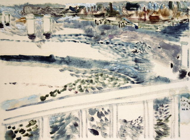 , 'View of Harbour from the Old Sailors Island Bridge, November 28,2017,' 2017, Robert Kananaj Gallery
