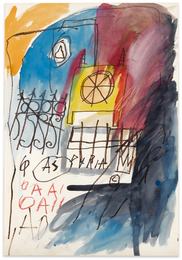 Jean-Michel Basquiat, 'Untitled,' 1981-1982, Sotheby's: Contemporary Art Day Auction