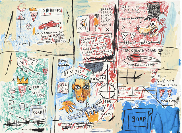Jean-Michel Basquiat, 'Olympic', 1982-1983/2017, Hang-Up Gallery