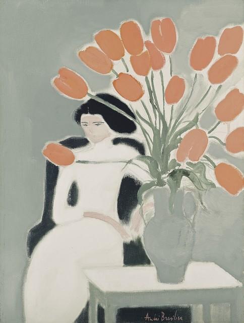 , 'Chantal aux tulipes ,' 1972, Opera Gallery
