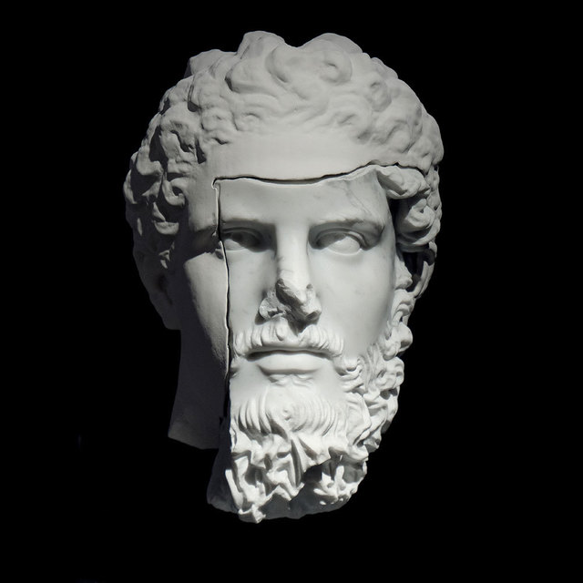 , 'Reconstructed portrait of Lucius Verus (scan of the original from MET, NYC),' 2018, Anna Nova Gallery