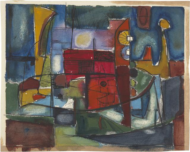 , 'Untitled,' ca. 1945, Richard Diebenkorn Foundation