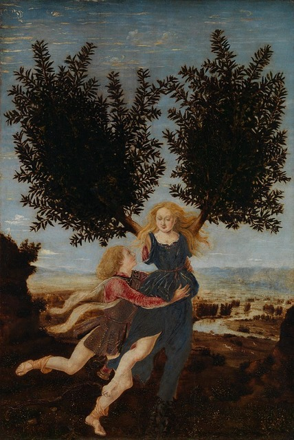 , 'Apollo and Daphne ,' Probably 1470-80, The National Gallery, London