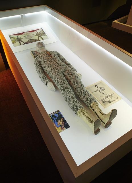 , 'Installation view: Area 10 – Replica of Quilted Bodysuit – Ziggy Stardust Album Cover Shoot,' , Art Gallery of Ontario (AGO)