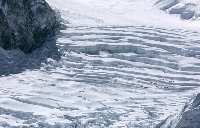, 'Kumbu Glacier (Camp I),' 2017, Lucia Mendoza