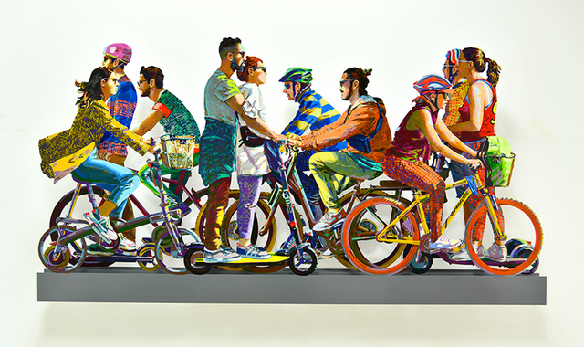 , 'TLV on Wheels,' 2019, Galerie Duret
