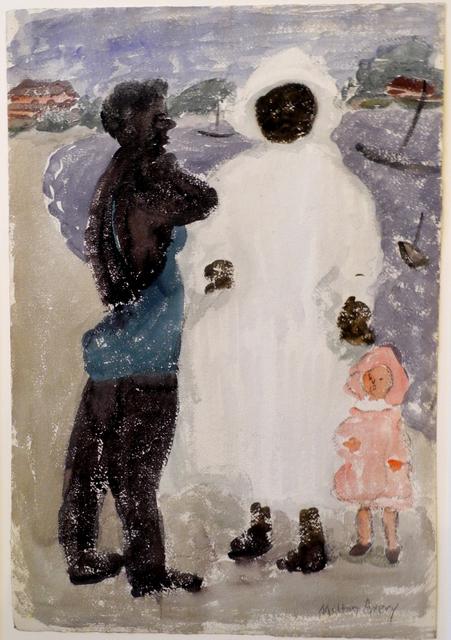 Milton Avery, 'Study for The Nursemaid', ca. 1934, Bill Hodges Gallery